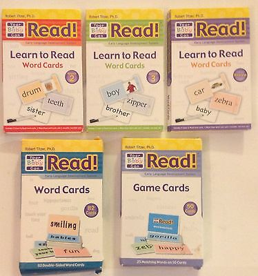 Your Baby Can Learn to Read -5 pieces