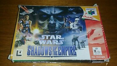 Star Wars - Shadows of the Empire Box Only (Nintendo 64)