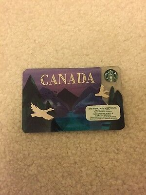 Starbucks Canada Flag With No Value