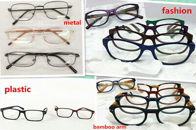 Bulk Lot Fashion Reading Glasses Variant Design Degree Metal or Plastic Frame