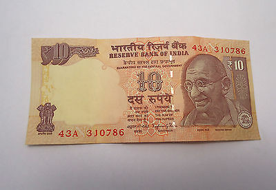 Rs 10 Rare 786 Holy Number Indian Rupees Note Lucky Number 786
