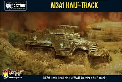 Warlord Games Bolt Action- M3A1 Half Track 28mm Scale WW2 US Army Miniature.