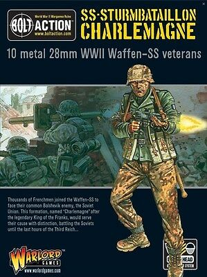 Warlord Games Bolt Action Waffen-SS Sturmbataillon 28mm Scale WGB-SS-02