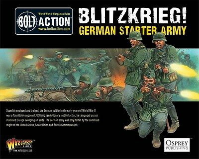 Warlord Games Bolt Action German Blitzkrieg 1000 Point Starter Army WGB-START-06