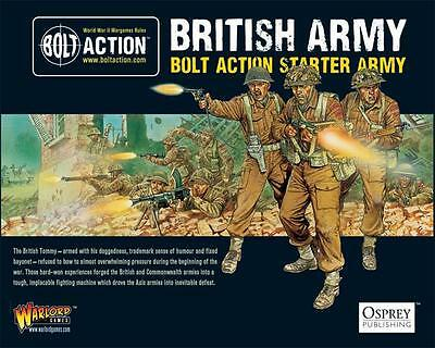 Warlord Games Bolt Action British WW2 Starter Army 28mm Scale WGB-START-04