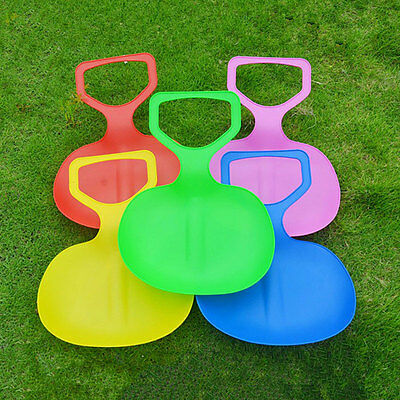 Sports Kids/Adult Winter Thicken Plastic Grass Skiing Pad Sled Board Snow