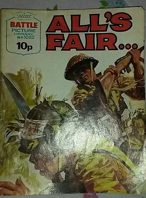 BATTLE PICTURE LIBRARY NO 1082 , All's Fair.