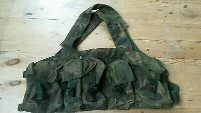 British Army Tactical Chest Rig Webbing