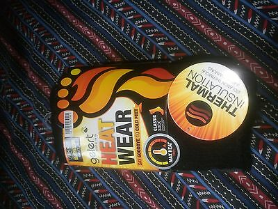 Gelert   Heat Wear   Thermal Socks   Junior Size  1 - 6    With Tags    New Cond