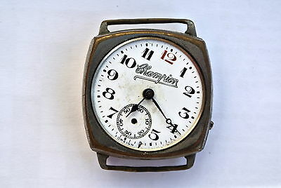 Vintage Champion wristwatch - for spares only