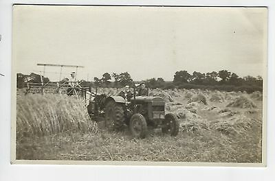 Old Fordson Tractor at work