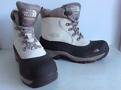 North Face Womens Ski Snow Primaloft Waterproof Boots 7.5 Worn Once