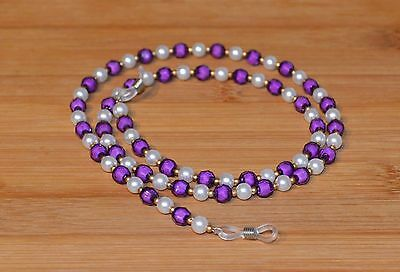 Lovely Pearl & Bead Spectacle/Glasses Chain Retainer Lanyard Necklace