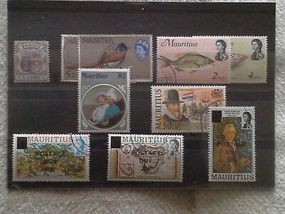 Mauritius - Small Selection of Stamps Issued From 1895 Onwards