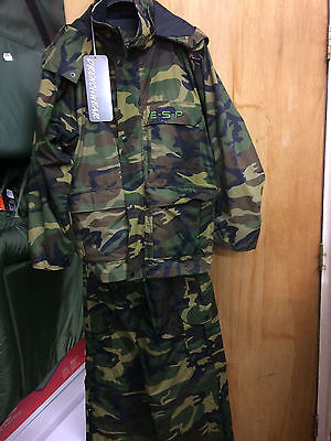 ESP camo jacket and trousers size large