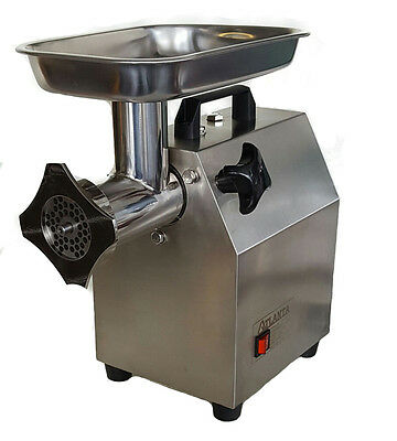 Heavy Duty Stainless Steel Meat Mincer Sausage Filler 1.5hp 1100w
