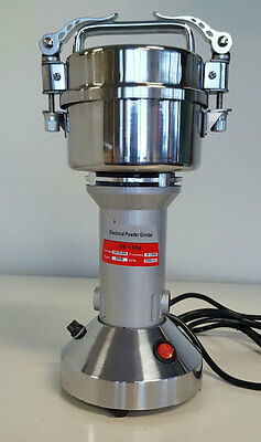 Electric Commercial Spice Grinder Powdering Herbal Pharmaceutical150g