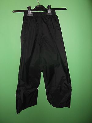 regatta waterproof trousers age 7-8 years
