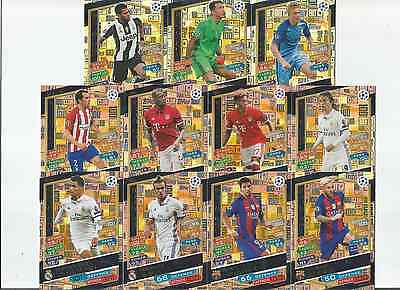 Ucl Match Attax Champions League 16/17 Hundred Club - Choose