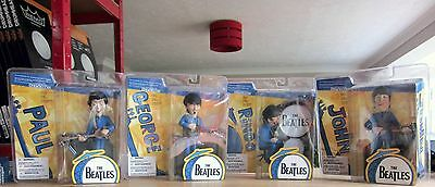 The Beatles action figures. All 4 John Paul George & Ringo. Excellent condition