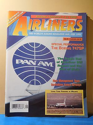Airliners World's Airline Magazine 1995 Jan Feb Boeing 747SP