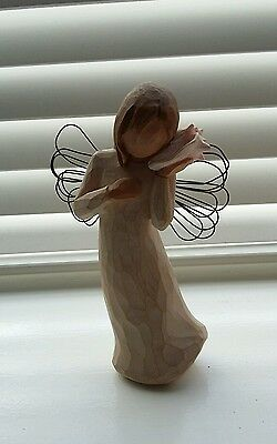 Willow tree figure angel - Thinking of you / Sea Shell