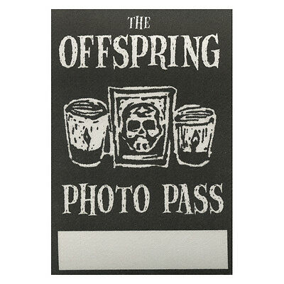 The Offspring authentic Photo 2000's tour Backstage Pass