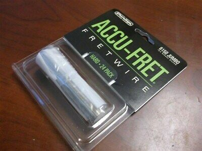"New - Dunlop Accu-Fret 2-5/8"" Jumbo Fret Wire Set (24) #6150"