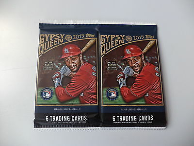 Topps Gypsy Queen Baseball 2015 Factory Sealed Trading Card Packs x 2