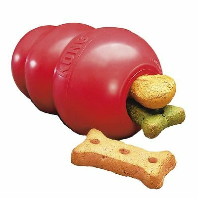 Classic Kong Rubber Red Doy Toy Treat Chew Dispenser