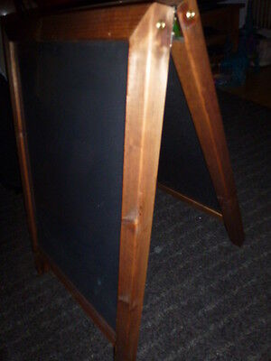 A frame chalk signage board Very good condition
