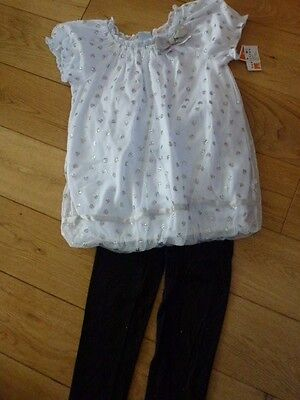 Top & Leggings from USA BNWT Black Age 4 years Brand new