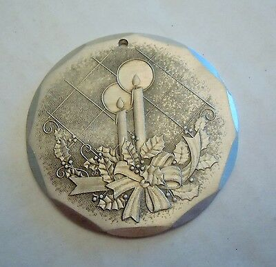 Wendell August Forge Aluminum 1992 Christmas Ornament Candles