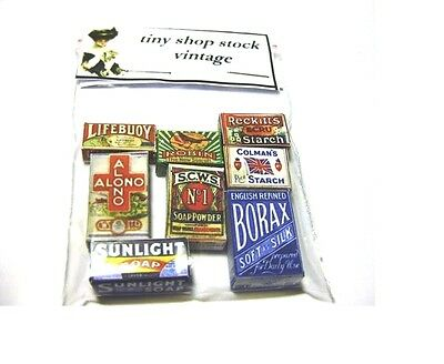 Vintage Style Household Items Dolls House Miniatures