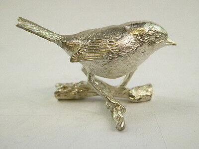 SOLID STERLING SILVER MINIATURE Robin  BY PAUL EATON