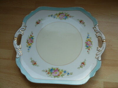 Pretty Japanese Noritake Porcelain Bone China  Sandwich/cake Tea Plate