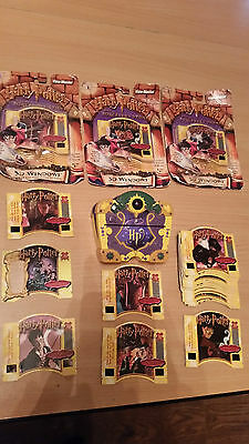 Rare View Master Harry Potter & The Sorcerer`s Stone Collectable Cards & Viewer