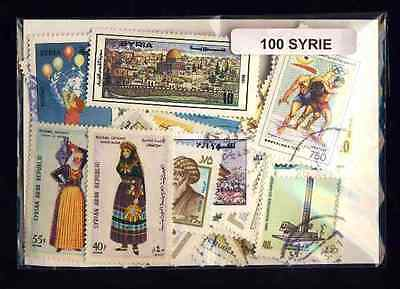 Syrie - Syria 100 timbres différents