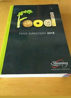 Slimming World 2016 Food Directory 39,500 Basic & Branded Products Ex Condition