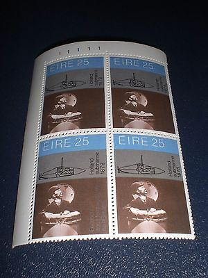 1981 4x25p Stamps - Science & Technology - Holland Submarine
