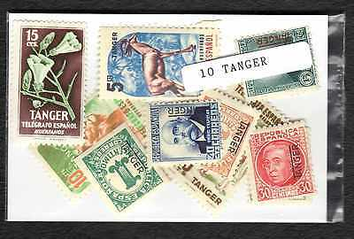 Tanger 10 timbres différents