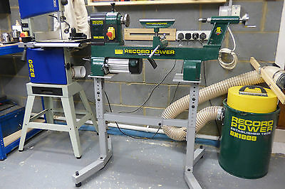 Record Power DML 305 woodturning lathe