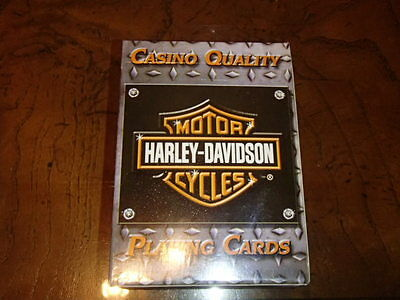 Harley-Davidson Motorcycles Casino Quality Playing Cards Factory Sealed Plastic