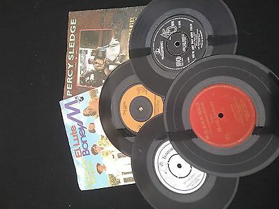 "Selection of 7"" vinyl 45 rpm records"