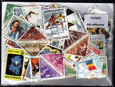 Tchad - Chad 300 timbres différents