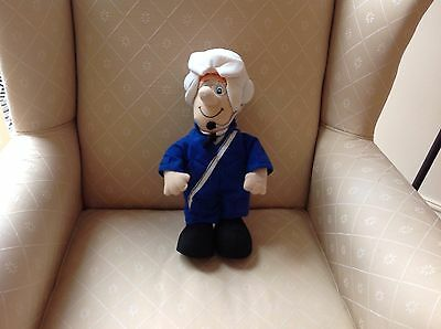 Large SDS helicopter pilot musical postman pat soft plush toy.