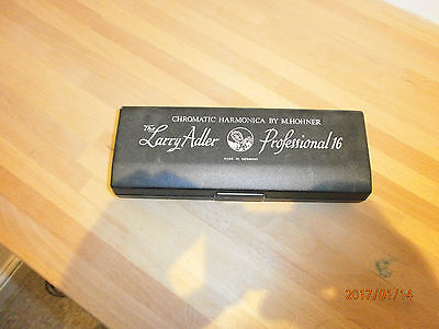 The Larry Adler Professional 16 Chromatic Harmonica by M Hohner