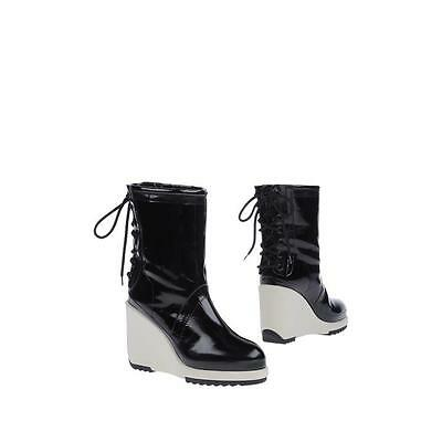 Marc Jacobs Ladies Wedge Hi Boots UK 8 EURO 41 NEW Black White