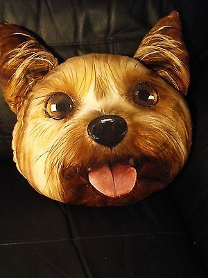 Yorkie Gift Present Large Cushion And Cover Yorkshire Terrier Cushion Dog Gift