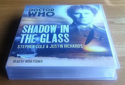 Doctor Who Shadow In The Glass 8xCD reading BBC Audio excellent condition
